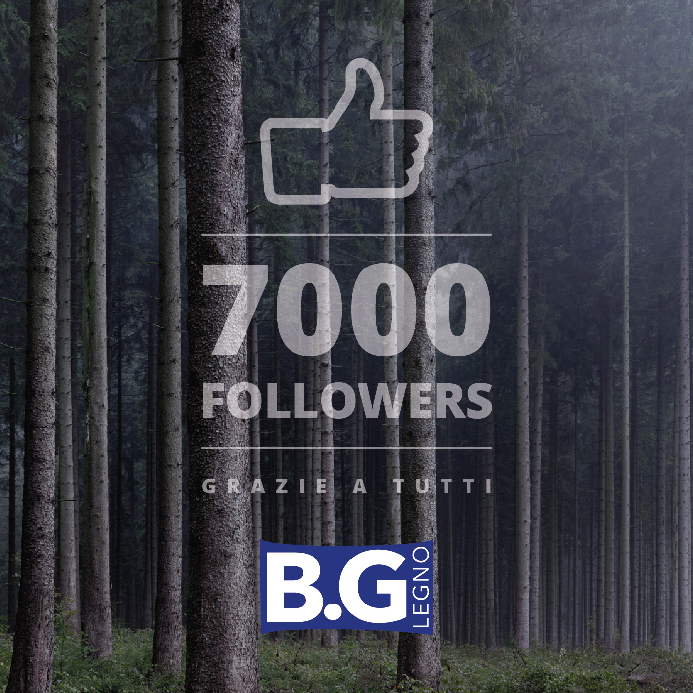 7000 followers su Facebook