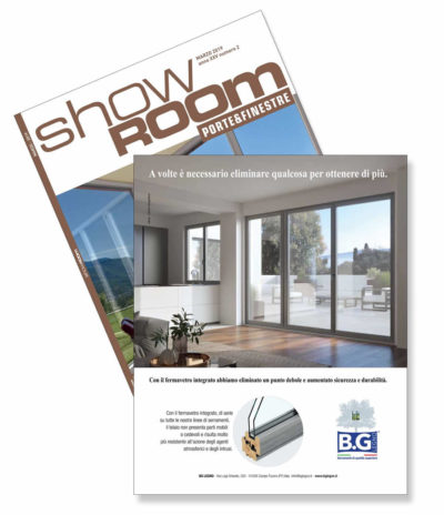 Rivista Showroom di marzo 2019