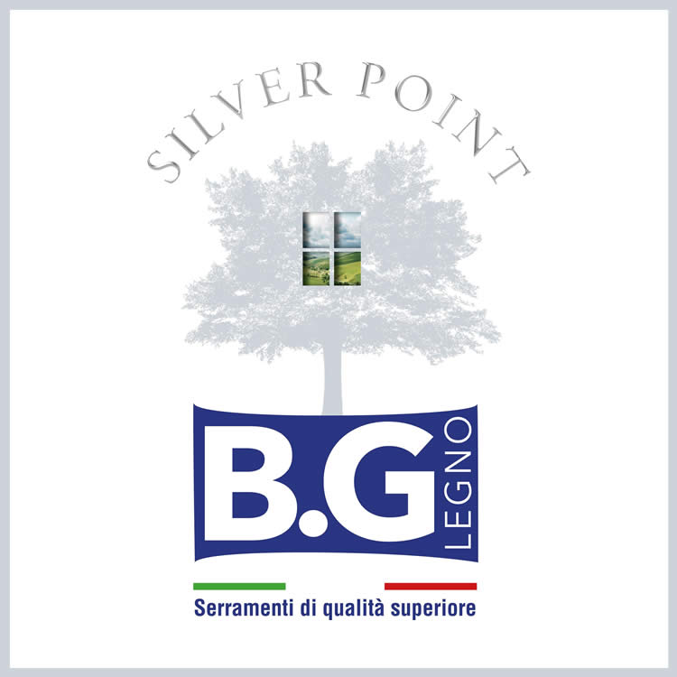 Logo Silver Point BG Legno