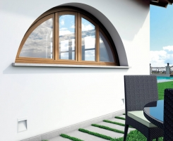 Alaska arched window